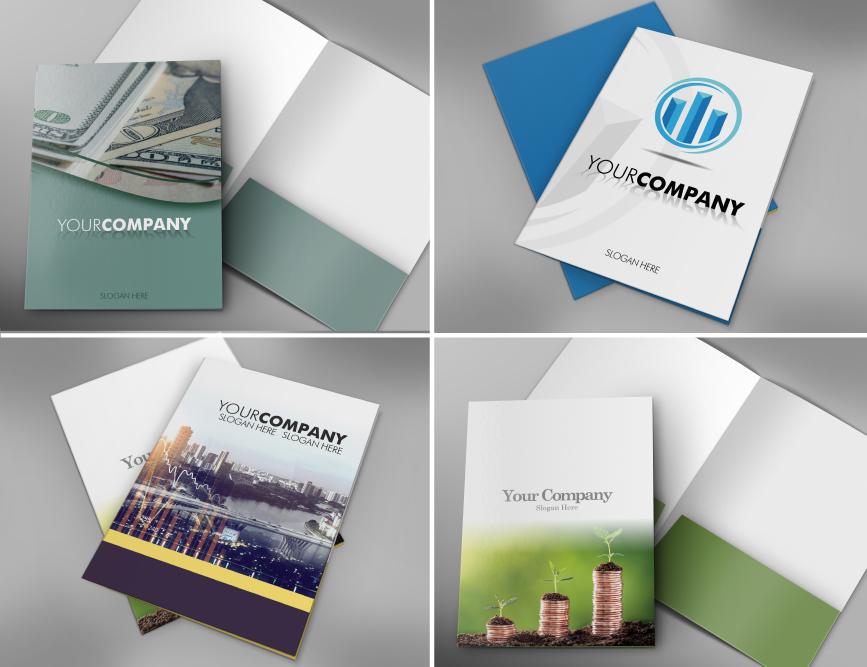 Accountants Presentation Folder Templates
