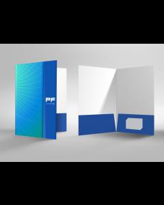 Soft Touch Laminated Presentation Folders