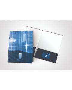 Letter Presentation Folders - Custom