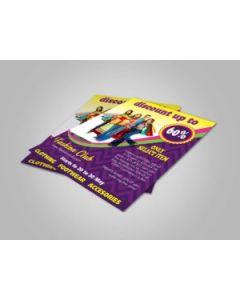 Quarter Page Flyer
