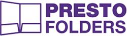 prestofolders logo