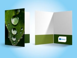 Personalized Presentation Folders With Business Card Slots